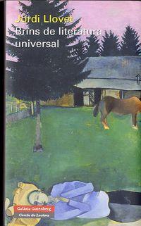 BRINS DE LITERATURA UNIVERSAL