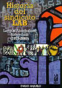 HISTORIA DEL SINDICATO LAB I (1975-2000)