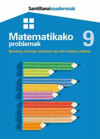 Lh - Matematikako Problemak 9 - Batzuk