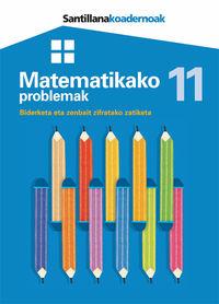 Lh - Matematikako Problemak 11 - Batzuk