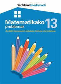 Lh - Matematikako Problemak 13 - Batzuk