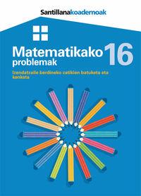 Lh - Matematikako Problemak 16 - Batzuk