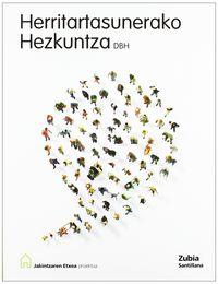 DBH 2 - HERRITARTASUNERAKO HEZKUNTZA - JAKINTZAREN ETXEA