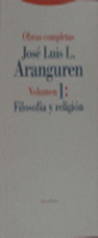 o. c. aranguren 1 - filosofia y religion - Jose Luis L. Aranguren