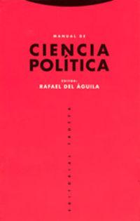 (6 ed) manual de ciencia politica - Rafael Del Aguila (ed. )