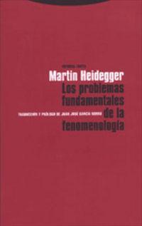 PROBLEMAS FUNDAMENTALES DE LA FENOMENOLOGIA, LOS