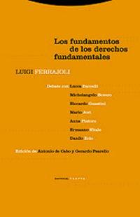 (4 ED) FUNDAMENTOS DE LOS DERECHOS FUNDAMENTALES, LOS