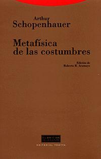 METAFISICA DE LAS COSTUMBRES