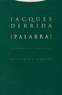 ¡PALABRA! INSTANTANEAS FILOSOFICAS