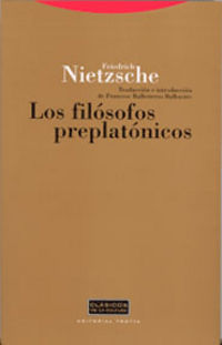 FILOSOFOS PREPLATONICOS, LOS