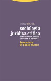 SOCIOLOGIA JURIDICA CRITICA