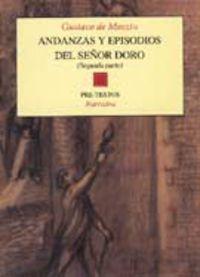 Andanzas Y Episodios Del Señor Doro Ii - Gustavo De Maeztu