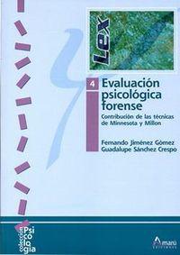 EVALUACION PSICOLOGICA FORENSE 4
