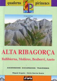 ALTA RIBAGORÇA (LIBRO+MAPA) - QUADERNS PIRINENCS
