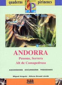 ANDORRA (LIBRO+MAPA) - QUADERNS PIRINENCS