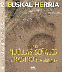 Guia De Huellas, Señales Y Rastros De Animales - Jonathan Rubines Garcia