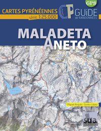Madaleta Aneto - Cartes Pyreneennes (1: 25000) - Miguel Angulo / Gorka Lopez