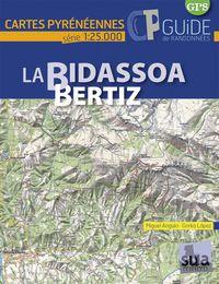 La Bidassoa-Bertiz - Cartes Pyreneennes (1: 25000) - Miguel Angulo / Gorka Lopez