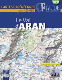 LE VAL D'ARAN - CARTES PYRENNENNES (1: 25000)
