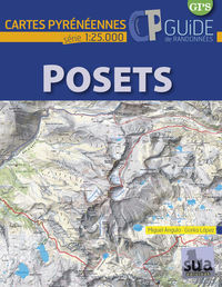 POSETS - CARTES PYRENEENNES (1: 25000)