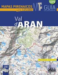 VAL D'ARAN - MAPAS PIRENAICOS (1: 25000)