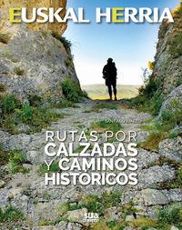 Rutas Por Calzadas Y Caminos Historicos - Santiago Yaniz