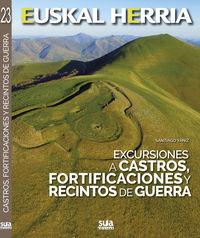 Excursiones A Castros, Fortificaciones Y Recintos De Guerra - Santiago Yaniz
