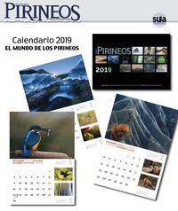 Calendario 2019 El Mundo De Los Pirineos Egutegia - Jorge Ruiz