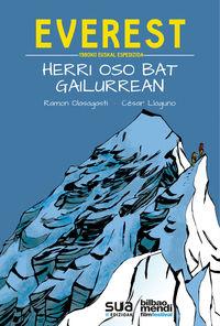 Everest, 1980ko Euskal Espedizioa - Herri Oso Bat Gailurrean - Ramon Olasagasti / Cesar Llaguno (il. )