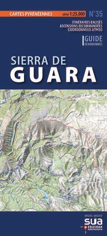 sierra de guara - cartes pyreneennes (1: 25000) - Miguel Angulo