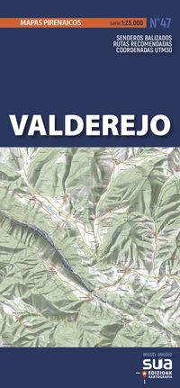 VALDEREJO - MAPAS PIRENAICOS