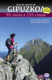 (6 ed) guia de montes de gipuzkoa - 95 rutas a 155 cimas - Txusma Perez Azaceta / Iñaki Alcalde Olivares