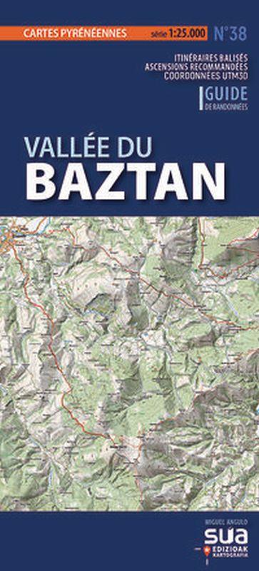 VALLEE DU BAZTAN - CARTES PYRENEENNES (1: 25000)
