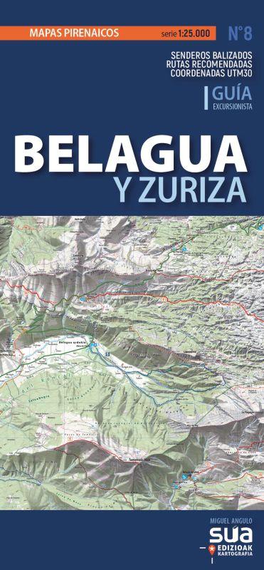 BELAGUA Y ZURIZA - MAPAS PIRENAICOS