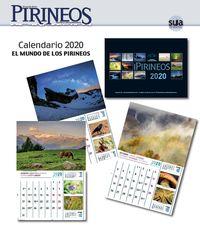 CALENDARIO 2020 EL MUNDO DE LOS PIRINEOS EGUTEGIA