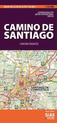 Camino De Santiago - Mapas Pirenaicos - Miguel Angulo