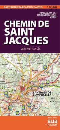 CAMINO DE SANTIAGO - CARTES PYRENEENNES (1: 25000)