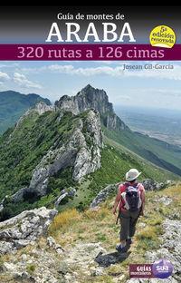 (5 ed) guia de montes de araba - 320 rutas a 126 cimas - Josean Gil-Garcia