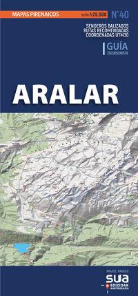(2 ED) ARALAR - MAPAS PIRENAICOS (1: 25000)