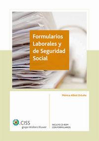FORMULARIOS LABORALES Y DE SEGURIDAD SOCIAL