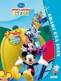 Disney Mickey Mousen Etxea - Moztu Eta Sortu - Batzuk