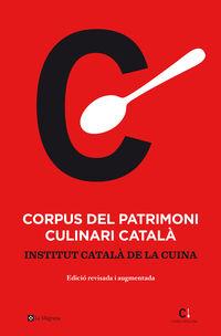 (2 ED) CORPUS DEL PATRIMONI CULINARI CATALA