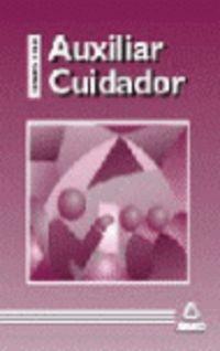 TEMARIO Y TEST - AUXILIAR CUIDADOR