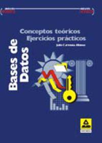 BASE DE DATOS. CONCEPTOS TEORICOS, EJERCICIOS PRACTICOS
