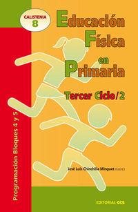 Educacion Fisica En Primaria - Tercer Ciclo - Programacion Bloques 4 Y 5 - Jose Luis Chinchilla Minguet