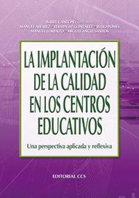 La implantacion de la calidad en los centros educativos - Isabel Canton