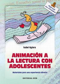 Animacion A La Lectura Con Adolescentes - Isabel Aguera