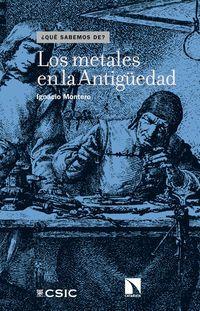 Metales En La Antiguedad Los - Ignacio Montero