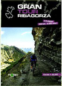 MAPA GRAN TOUR RIBAGORZA 1: 40000