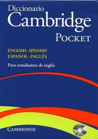 DICC. CAMB POCKET ENGLISH / SPANISH - ESPAÑOL / INGLES